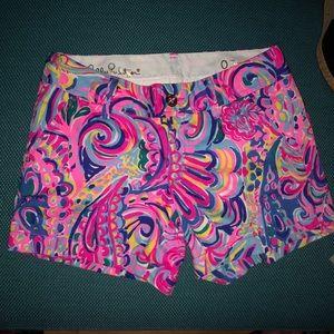 Lilly Pulitzer The Callahan Shorts (Size 0)
